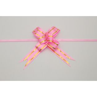 Pull Ribbon Butterfly 15mm Pink - China